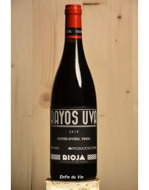 rayos uva 2018 rioja rivière tempranillo graciano grenache vin rouge bio espagne