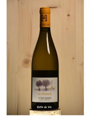 les trois poiriers 2018 anjou domaine les terres blanches val de loire chenin vin blanc bio biodynamie biodyvin