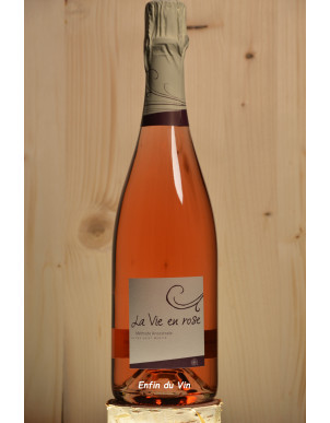 la vie en rose 2020 vin de france domaine pas saint martin grolleau noir vin effervescent bio