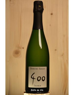 400 saumur brut domaine des sanzay val de loire chenin chardonnay vin effervescent bio