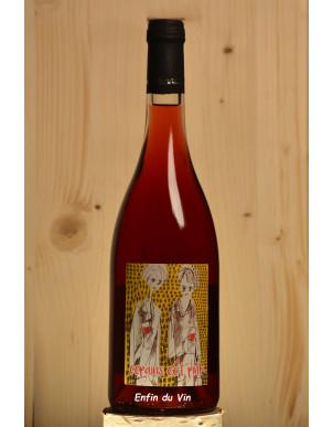 copains côt pink 2019 vin de france le chai de thélème val de loire côt grolleau vin rosé bio naturel