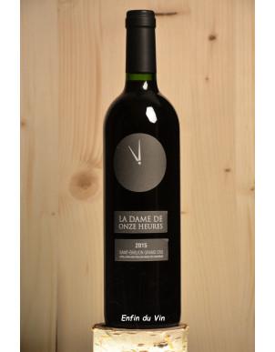 la dame de 11 heures 2015 st emilion grand cru bordeaux rapin merlot cabernet vin rouge bio