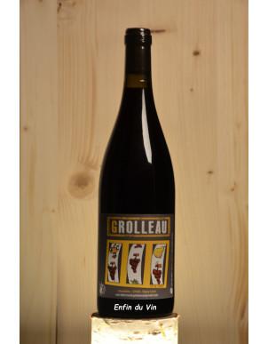 grolleau 2018 vin de france domaine la ferme du plateau val de loire vin rouge bio naturel