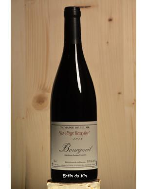 les vingt lieux-dits 2018 bourgueil domaine bel air val de loire cabernet-franc vin rouge bio