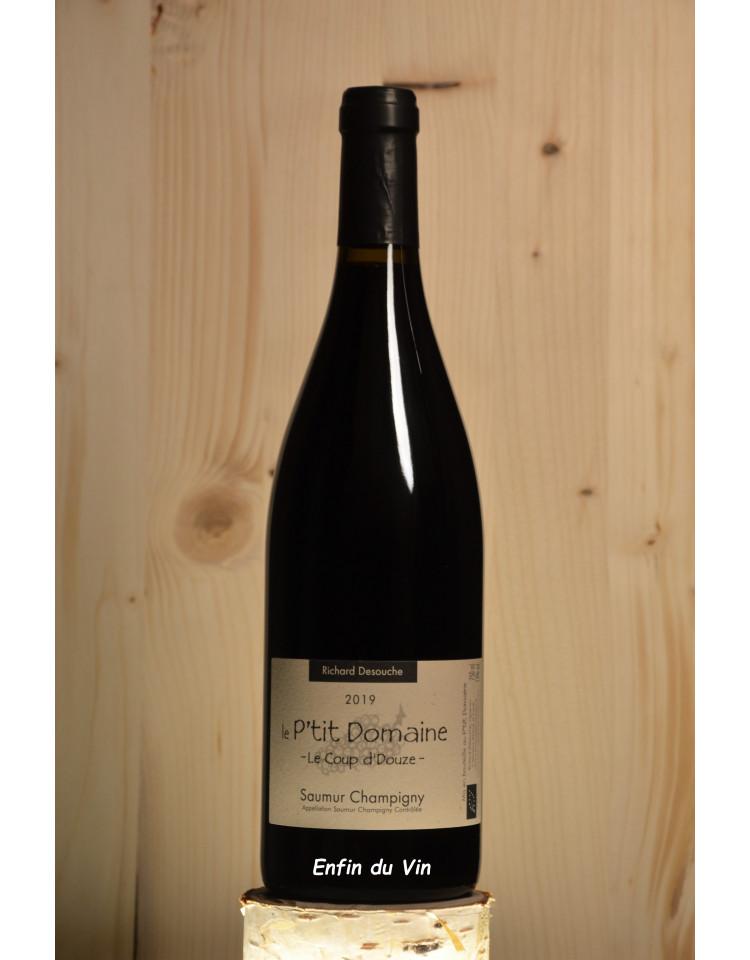 coup de douze 2019 saumur champigny le p'tit domaine val de loire cabernet-franc vin bio