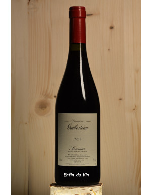 2018 saumur domaine guiberteau val de loire cabernet-franc vin rouge bio
