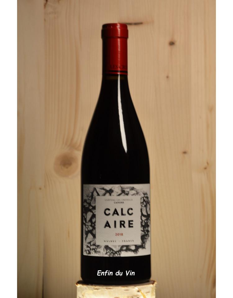 Calcaire 2018 cahors château les croisille sud-ouest malbec vin rouge biologique