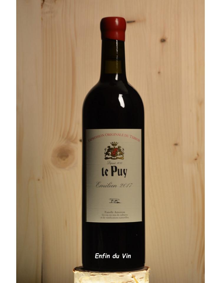 emilien 2017 vin de france le puy amoreau bordeaux merlot cabernet vin rouge bio biodynamie demeter