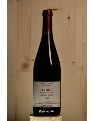vieilles vignes 2019 fleurie domaine joubert beaujolais gamay vin rouge bio naturel
