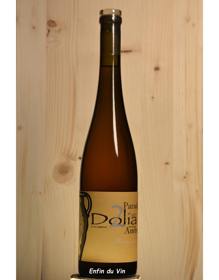 dolia ambré 2014 vin de france viret rhône muscadet petit grain bourboulenc vin orange bio naturel