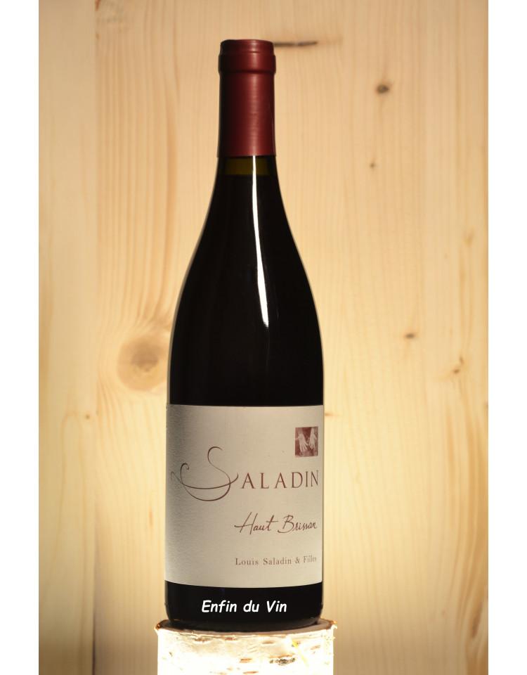 haut brissan 2017 vin de france domaine saladin rhône grenache noir vin rouge bio naturel