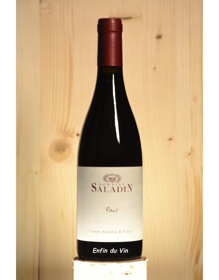 paul 2019 côtes du rhône domaine saladin grenache noir clairette vin rouge bio naturel