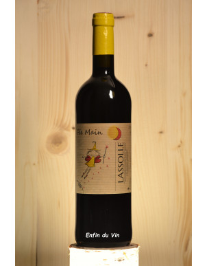 fée main 2018 vin de france lassolle sud ouest cabernet-sauvignon abouriou vin rouge bio biodynamie naturel