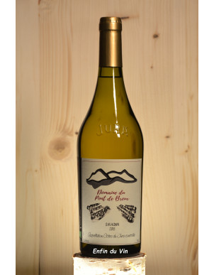 savagnin 2015 côtes du jura domaine du pont de breux jura vin blanc bio