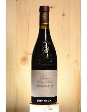 pierre andré 2017 chateauneuf du pape domaine pierre andré rhône grenache syrah vin rouge bio biodynamie