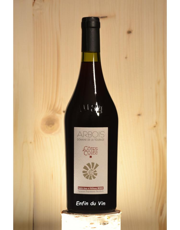 côtes à côtes 2017 arbois domaine de la touraize jura pinot noir trousseau vin rouge bio biodynamie