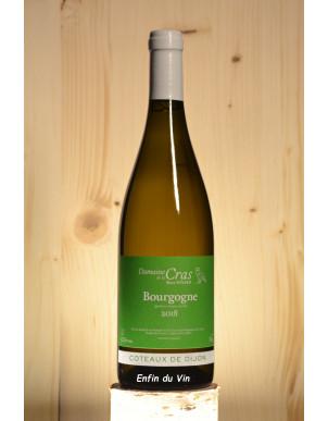 bourgogne 2018 coteaux de dijon domaine de la cras chardonnay vin blanc bio naturel