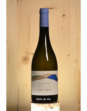meursault village 2018 fanny sabre bourgogne chardonnay vin blanc bio naturel