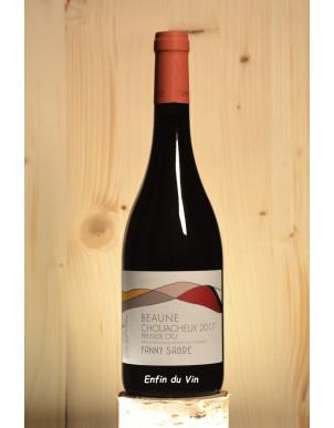 Les Chouacheux 1er cru beaune bourgogne fanny sabre pinot noir vin rouge naturel bio