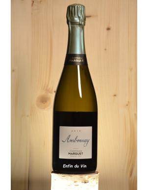 Ambonnay 2015 Champagne domaine marguet pinot noir chardonnay vin effervescent biologique naturel biodynamie demeter