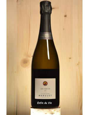 Shaman Champagne domaine marguet pinot noir chardonnay vin effervescent biologique naturel biodynamie demeter