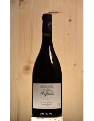 Tempérance 2015 Bourgueil Galbrun Val de Loire Cabernet-Franc vin rouge Bio biodynamie Demeter