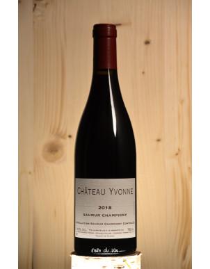 2018 Saumur-Champigny Château Yvonne Val de Loire Cabernet-Franc Vin Rouge Biologique