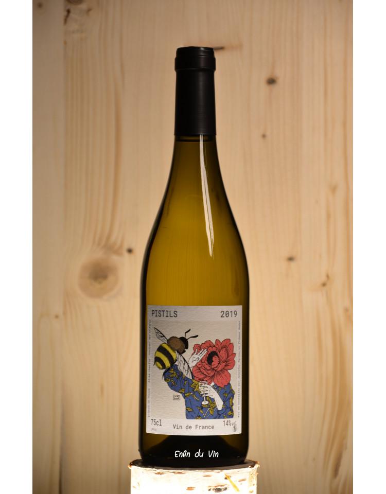 pistils 2019 vin de france domaine bariou bodet val de loire chenin sauvignon vin blanc biologique naturel