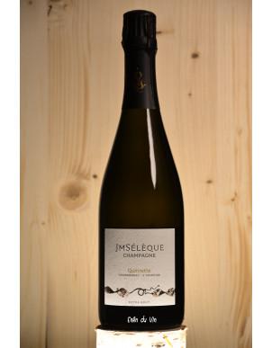 Quintette 2015 champagne domaine sélèque chardonnay vin effervescent