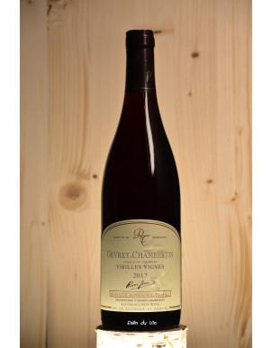 vieilles vignes 2017 gevrey-chambertin bourgogne domaine rossignol-trapet pinot noir biologique biodynamie demeter
