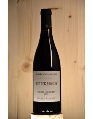 Les Terres Rouges 2019 saumur champigny domaine arnaud lambert val de loire cabernet-franc vin rouge biologique biodynamie