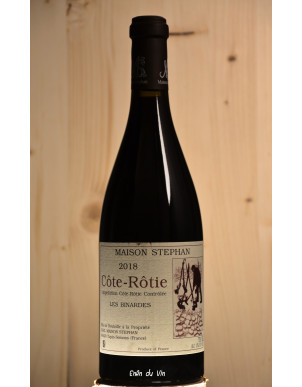 les binardes 2018 côte rôtie maison stephan rhône syrah viognier vin rouge bio naturel