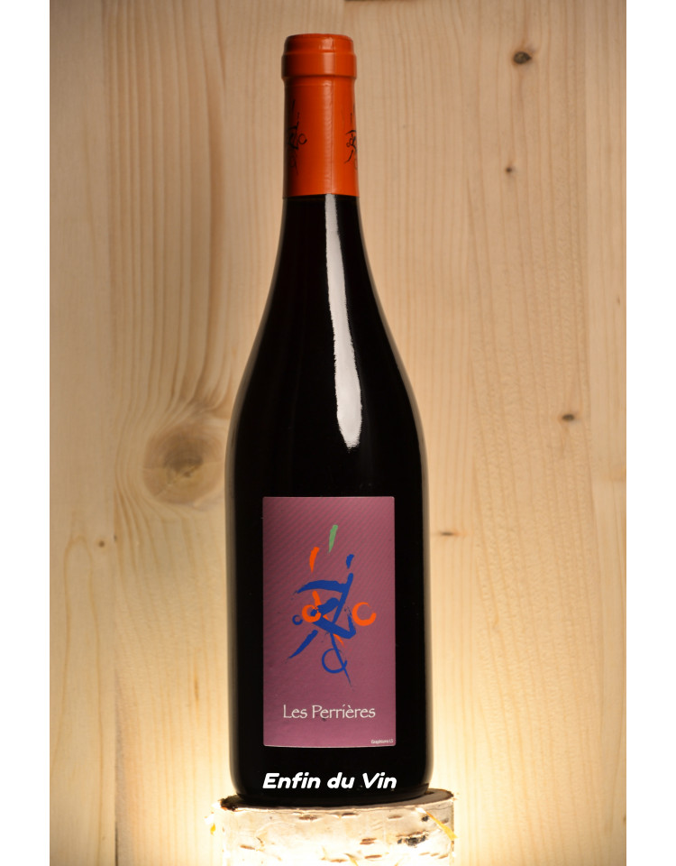les perrieres 2018 vin de france domaine barault val de loire grolleau noir vin rouge bio biodynamie naturel
