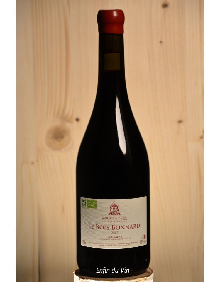 bois bonnard 2017 touraine geoffrey de noüel val de loire cabernet-franc vin rouge bio