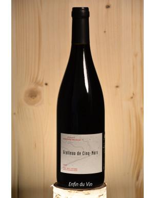 grolleau de cinq-mars 2019 val de loire delalle vin rouge bio