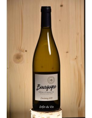 chardonnay 2018 bourgogne côtes d'auxerre domaine d'edouard vin blanc bio