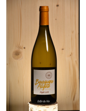bourgogne aligoté 2018 domaine d'edouard vin blanc bio