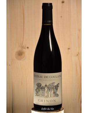 château de coulaine 2019 chinon val de loire cabernet-franc vin rouge bio