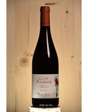 anatole 2020 sainte marie la blanche fanny sabre pinot noir bourgogne vin rouge naturel