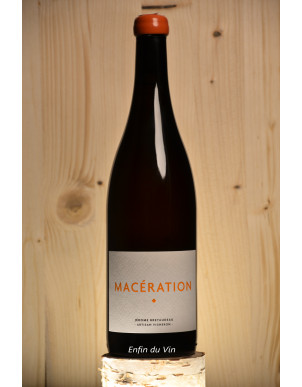 macération 2019 vin de france domaine de belle-vue bretaudeau pinot gris vin orange bio biodynamie val de loire