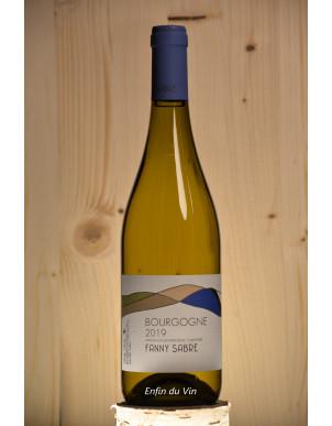 bourgogne 2019 fanny sabre chardonnay vin blanc naturel biologique