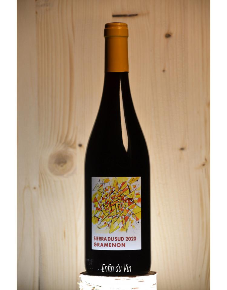 sierra du sud 2020 côtes du rhône domaine gramenon syrah rhône vin rouge biologique biodynamique naturel
