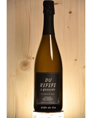 du rififi à beaulieu 2018 petillant naturel domaine bobinet val de loire chenin chardonnay vin naturel