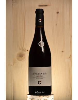 jours de vigne 2019 IGP Aude Domaine de Cazaban Carignan Grenache Noir Vin rouge biologique biodynamique naturel languedoc