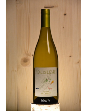 poil de lièvre 2019 vin de france domaine bobinet chenin vin blanc naturel val de loire