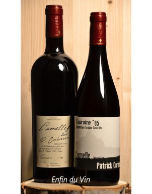 Coffret Corbineau Cumelles 2004 Touraine cumelle 2005 vin de france cabernet-franc vin rouge naturel val de loire