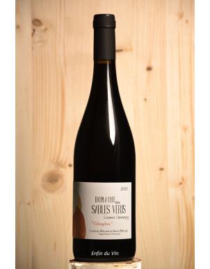 glouglou 2020 saumur champigny domaine des sables verts cabernet franc val de loire vin rouge bio