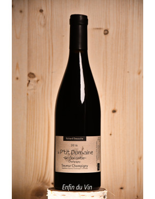 Le Clos Lintier 2016 Saumur-Champigny Le P'tit Domaine Val de Loire Vin Rouge Cabernet-Franc biologique